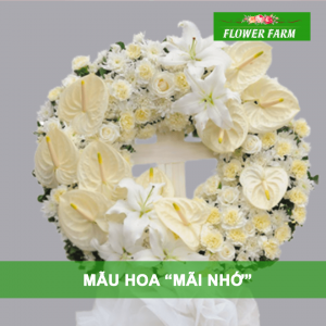hoa chia buồn mãi nhớ
